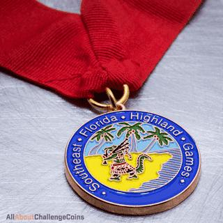Florida Highland Games Medallion