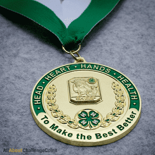 Sheep Medallion All About Challenge Coins
