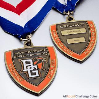 Bowling Green State University Medallion